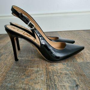 Sam Edelman Hastings Black Slingback Heels